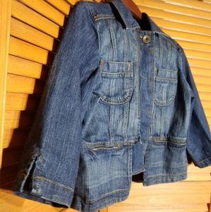 DKNY Jeans Dark Denim Jacket